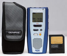 MINT Olympus Digital DM-1 Voice & MP3 Recorder w/ SRS WOW, 64mb Card & Pouch