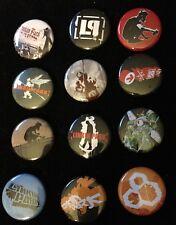 Vintage Linkin Park 12 Badges Set Record Label Promo Chester Bennington MINT NEW