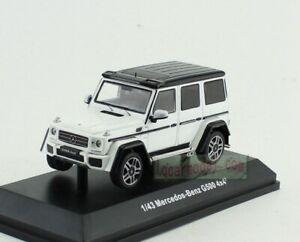 1/43 Scale Mercedos Benz G500 4x4² white Diecast