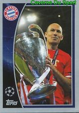 613 FC BAYERN MUNCHEN 2012/13 WINNERS STICKER CHAMPIONS LEAGUE 2016 TOPPS