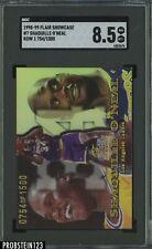 1998-99 Flair Showcase Row 1 Shaquille O'Neal lakers HOF /1500 SGC 8.5 NM-MT+