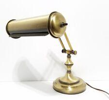 Vintage Brass Desk / Table Lamp - Works Great