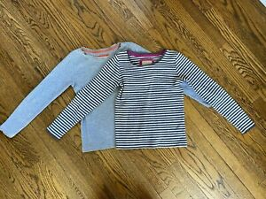 MINI BODEN shirt girls size 7-8. Set of 2