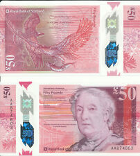 Schottland / The Royal Bank of Scotland - 50 Pounds 2020 (2021) UNC - Serie AA