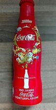 Coca Cola Aluflasche 100 Jahre Konturflasche 2000er - Alu Flasche Bottle Coke