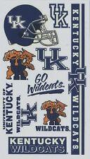 NCAA College KENTUCKY University Temporary Tattoos Sheet by Wincraft Inc