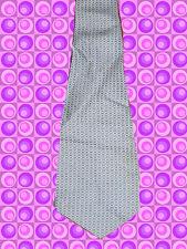 A294✪ original 70er Jahre Kult Retro Krawatte Hippie Muster braun / beige Clip