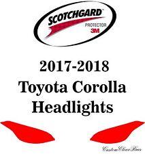 3M Scotchgard Paint Protection Film Clear Bra Pre-Cut 2017 2018 Toyota Corolla