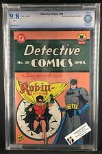 Detective Comics #38 CBCS Graded 9.8 BlockBuster Replica