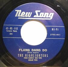 Soul/R n B 45 - Highlighters - Flang Dang Do - Mint- re-issue