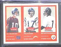 2004 Fleer Tradition #351 Manning, Rivers, and Roethlisberger