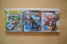 ps3 Spiele-bundle: Uncharted 1-3