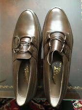Bally New Brown Men's Leather Lace Up Shoes Sz. 9 See measurements