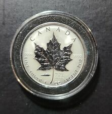 2005 Canada Maple Leaf VJ Day Privy 1 oz Silver Coin WWII Victory Japan