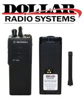 Used Motorola HT1000 VHF 136-174Mhz 16Ch Wideband Portable Radio H01KDC9AA3AN