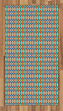 Tribal Ethnic Area Rug Flat Woven Accent Rug Home Decoration 2 Sizes