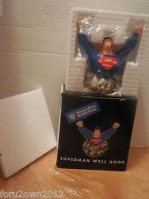 1999 Wb Studio Store Superman Wall Hook Nib