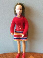 Frau Erna Meyer Püppchen Puppe Puppenstube Puppenhaus 1:12 dollhouse doll
