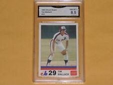 1983 Stuart Expos Baseball Card # 12 Tim Wallach GRADE NM-MT+ 8.5