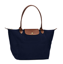 Longchamp Le Pliage Large Shoulder Tote Bag - Navy