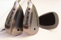 Spin Doctor RI 52/56/60 Degree Pitching/Sand/Lob Golf Wedge (Set of 2)