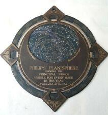 RARE Antique Planisphere Philip's  Planisphere   circa 1900 Celestial Map