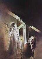 Eight Candles Glowing Boris Vallejo Vintage Art 1976 Runaway Bride Sinister