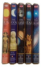 Hem Celestial Incense Variety: 5 x 20 = 100 Sticks SUN MOON STAR PLANET GALAXY