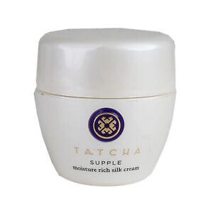 Tatcha Supple Moisture Rich Silk Cream, 1.86oz/55ml NOT SEALED