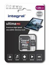 Integral 128GB micro SD card 4K video Premium High Speed memory card microSDXC