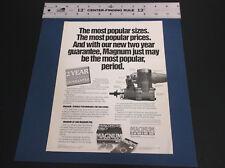 VINTAGE '88 VARICOM INDUSTRIES MAGNUM GP & PRO R/C PLANE ENGINE BROCHURE*G-COND*