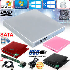 USB 2.0 To Sata Laptop DVD CD RW Rom External Drive Caddy Case Drive Enclosure