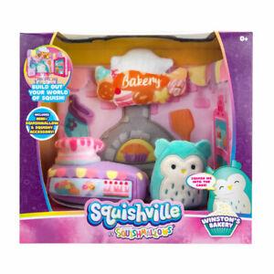Squishmallows Squishville Winston's Bakery