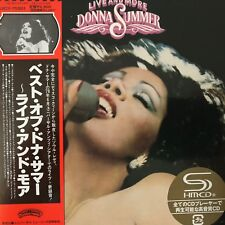 Live and More by Donna Summer (SHM-CD paper sleeve), 2012, UICY-75301 - Japan