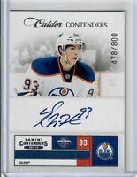 Ryan Nugent-Hopkins 2011-12 Contenders Auto 478 OF 800 Oilers RC