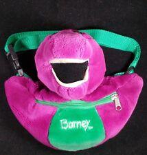 Vintage Barney the Dinosaur Adjustable Fanny Pack Bag PLEASE READ!!!!!!!!!!!!!!!