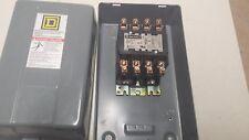 SQ D 8910DPA44 SER B 4P 600V 40A 120V COIL DEF PURPOSE 4 pole CONTACTOR w enclos