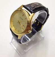 NEW Pulsar by Seiko PXD700 Mens Watch Gold Tone Dress Watch Champagne Dial
