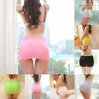 Women Candy Color Stretch Tight Short Bodycon Lady Pleated Mini Sexy Skirt Hot*