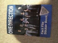 One Direction: Fact File Sticker Book, Alligator, Like New, Paperback