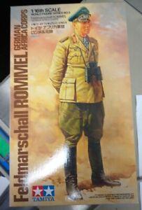 Feldmarschall Rommel Africa Corps Tamiya 1:16 plastic kit 36305