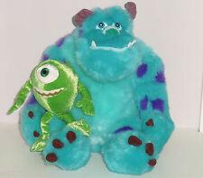 Disney Sulley Mike Plush Set Monsters Inc. University Theme Parks Nwts