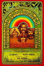 John Fogerty & Creedence Clearwater Revival  Canada Concert Poster 70  12x18