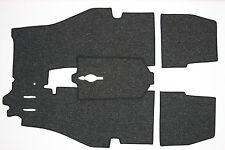 PORSCHE 356 T6 & 356C COUPE & CAB SUPPLEMENTAL CARPET KIT GERMAN SQUARE WEAVE