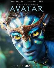 Avatar 3D blu ray  and case  with cool slipcover