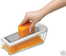 Kitchencraft formaggio GRATER & raccolta / storer BOX SET. Zester / SLICER LAME.