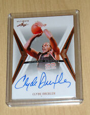 2012 Leaf Ultimate Series Basketball autograph Clyde Drexler