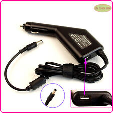 Car DC Power Adapter Charger + USB Port for ASUS A2L A3A A3Ac A3E A3FC A3H A9Rp