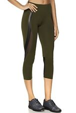 "Jessica Simpson  ""The Warm-Up"" Capri Legging with Mesh. Woman Size Small"