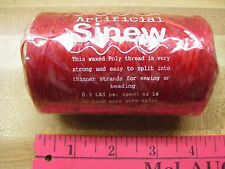 Sinew Red  Crafts Sewing  LG. Crafts  Wrapping Arrowheads